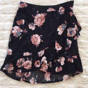 COTTON CANDY LA floral mini skirt